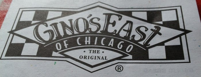Gino's East is one of Chicago.