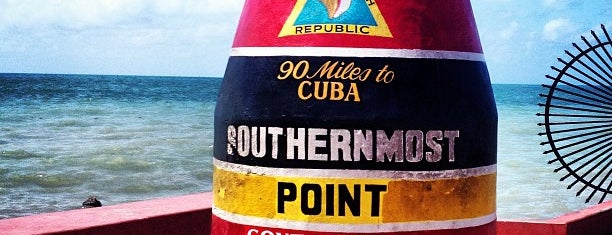 Southernmost Point Buoy is one of Key West Cronked.