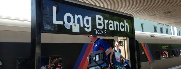 NJT - Long Branch Station (NJCL) is one of New Jersey Transit Train Stations I Have Been To.