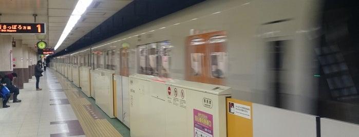 Nango nana chome Station (T14) is one of 札幌市営地下鉄 東西線.