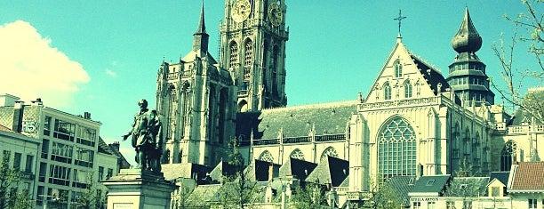 Groenplaats is one of Antwerpen.