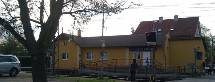 Železniční stanice Proboštov is one of Železniční stanice ČR: P (9/14).
