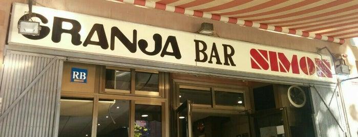 Granja Bar Simon is one of Comer bien.