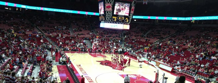 Bud Walton Arena is one of College Basketball Venues.