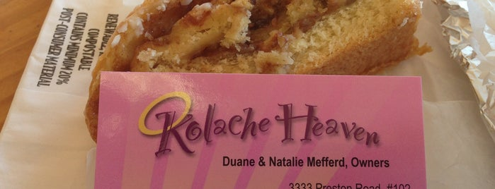 Kolache Heaven is one of Restaurants to Remember.