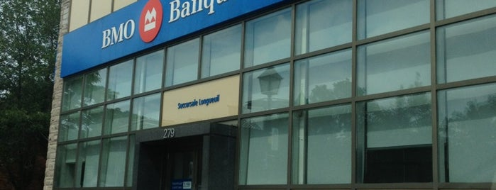 BMO Banque de Montréal is one of Longueuil #4sqCities.