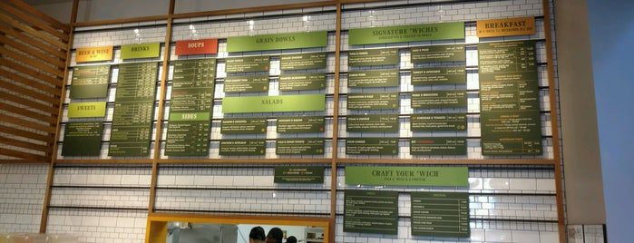'Wichcraft - East Tribeca is one of Beme lunch spots.