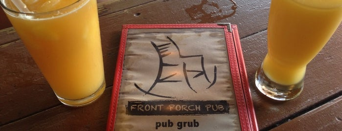 Front Porch Pub is one of Houston Happy Hour Guide.