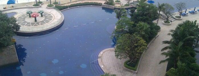 大梅沙喜来登度假酒店 Sheraton Dameisha Resort is one of Shenzhen.
