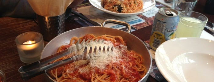 Spaghetti House is one of London gluten free.