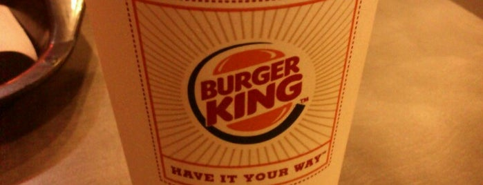 Burger King is one of My makan places.
