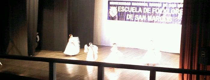 Teatro Felipe Pardo y Aliaga is one of ii.