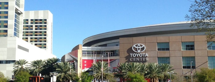 Toyota Center is one of Fun.
