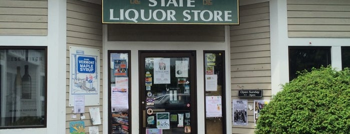 State Liquor Outlet is one of Stowe.