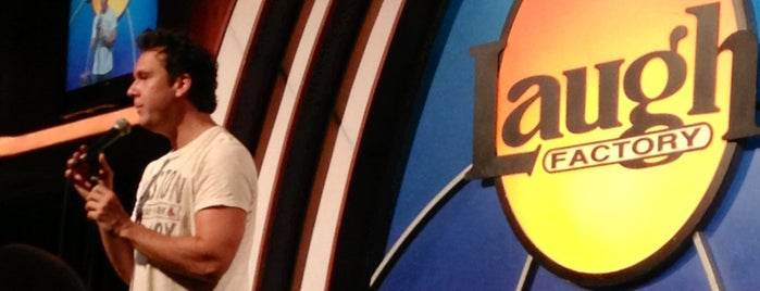 Laugh Factory is one of Fun stuff to do.