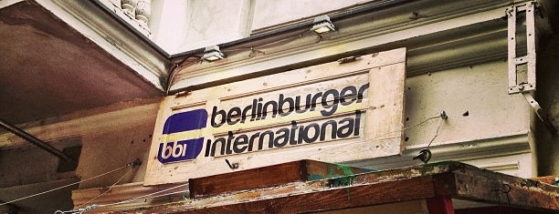 Berlin Burger International is one of My Favorites.