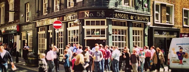 Angel & Crown is one of London UK City Guide.