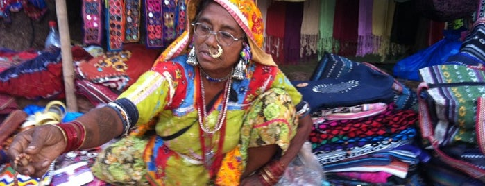 Anjuna Flea Market is one of India places to visit.