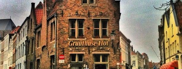 Gruuthuse Hof is one of Brugge.