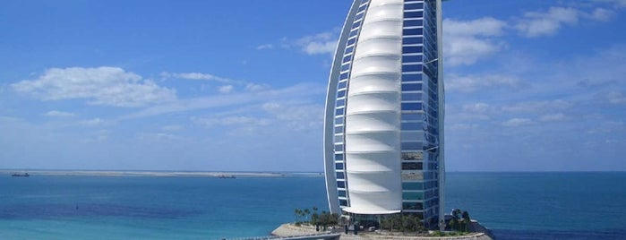 Burj Al Arab is one of Go Ahead, Be A Tourist.