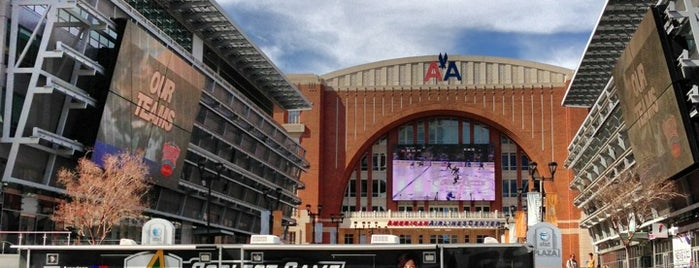 American Airlines Center is one of NHL Arenas.