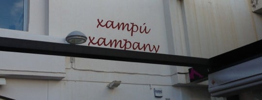 Xampú Xampany is one of D'aquí....