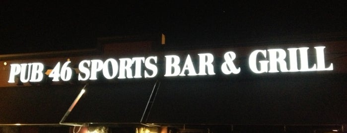 Pub 46 Sports Bar & Grill is one of New Experiences.