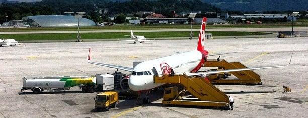 Salzburg Airport W. A. Mozart (SZG) is one of HAVALİMANLARI.