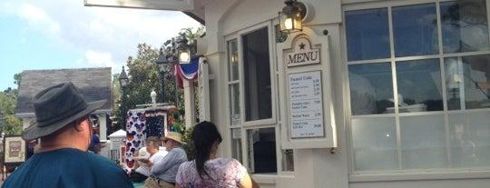 Funnel Cake Kiosk is one of Walt Disney World - Epcot.