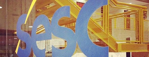 SESC is one of em São Carlos.