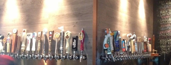 Nobi Public House is one of Houston Beer Lovers Paradise.