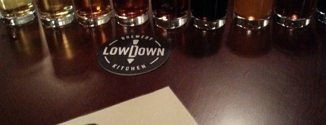 Lowdown Brewery+Kitchen is one of Pipes Brewery Tour.