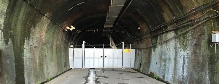 旧生駒トンネル is one of 近鉄けいはんな線.