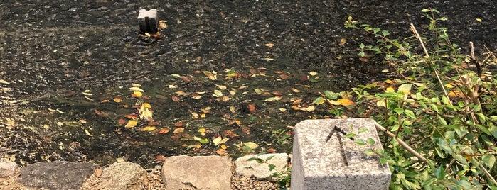 水の堰止めの石 is one of to do.
