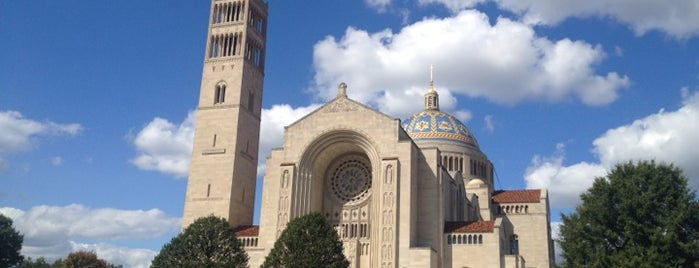 Basilica Of The National Shrine Of The Immaculate Conception is one of Virginia/Washington D.C..