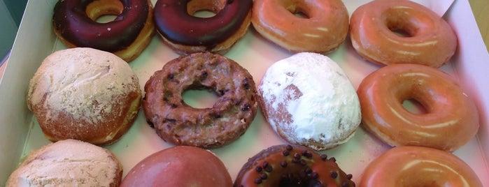 Krispy Kreme Doughnuts is one of Favorite Food.