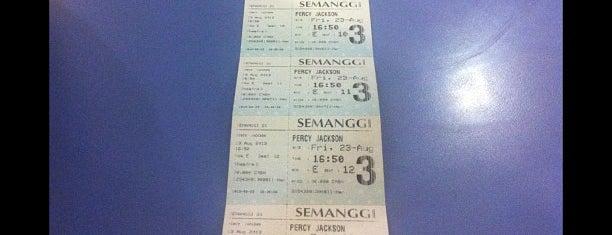 Semanggi 21 is one of Watching movie's activites.