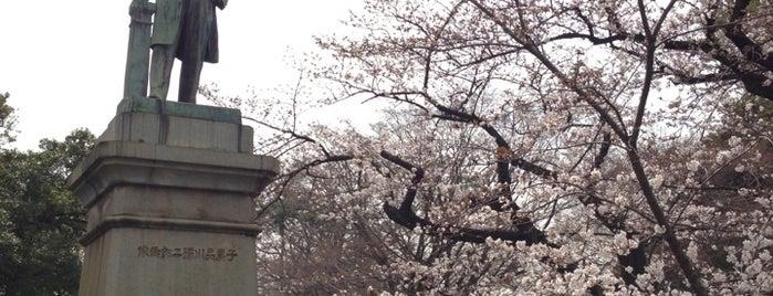品川弥二郎銅像 is one of 近現代.
