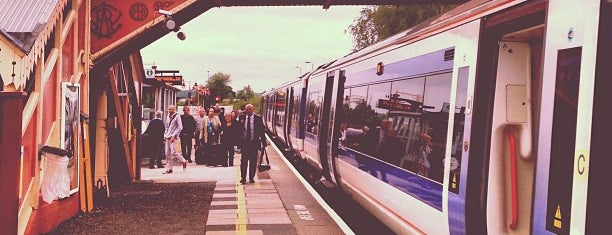 Stratford-upon-Avon Railway Station (SAV) is one of Rail stations.