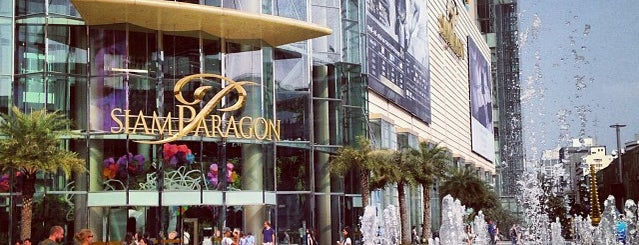 Siam Paragon is one of Favourite Places to SHOP.