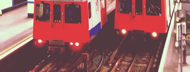Aldgate East London Underground Station is one of #LoveE1.