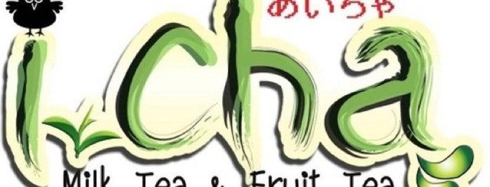 ไอฉะ i-cha bubble milk tea and fruit tea is one of Cafe&Bakery.