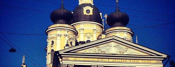 Собор Владимирской иконы Божьей Матери is one of Православный Петербург/Orthodox Church in St. Pete.