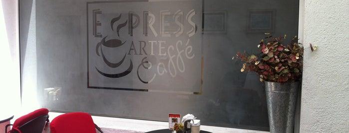 Express Arte Caffe is one of Comida.