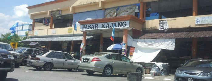 Pasar Besar Kajang is one of The 20 best value restaurants in Malaysia.