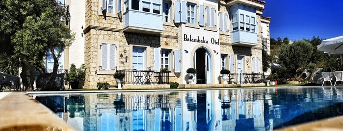 Alaçatı Balambaka Butik Otel is one of SEFER 2014/ 33 GÜN.