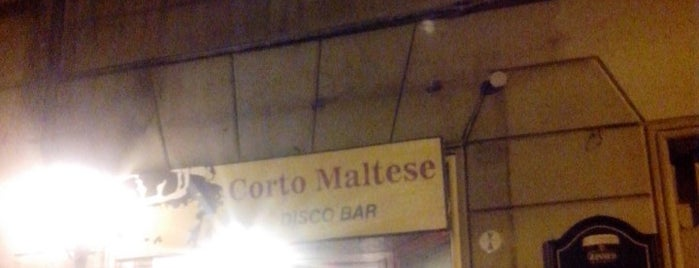 Corto Maltese is one of Bologna city.