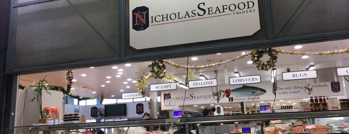 Nicholas Seafood Traders is one of Around The World: SW Pacific.