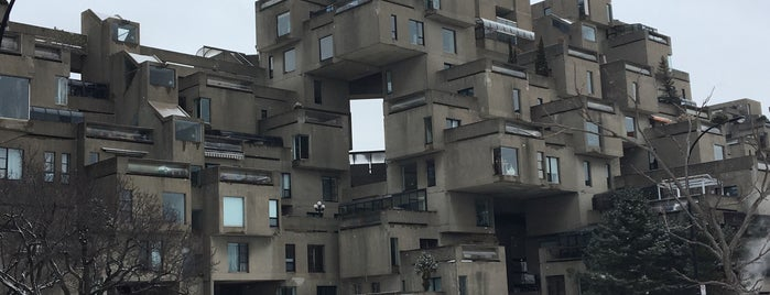 Habitat 67 is one of My Montreal State Of Mind.