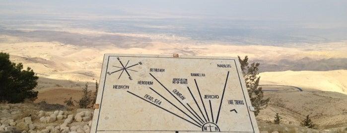 Mount Nebo is one of Jordan.